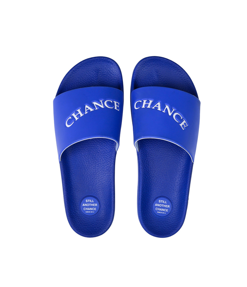 CHANCECHANCE Slippers(Blue)